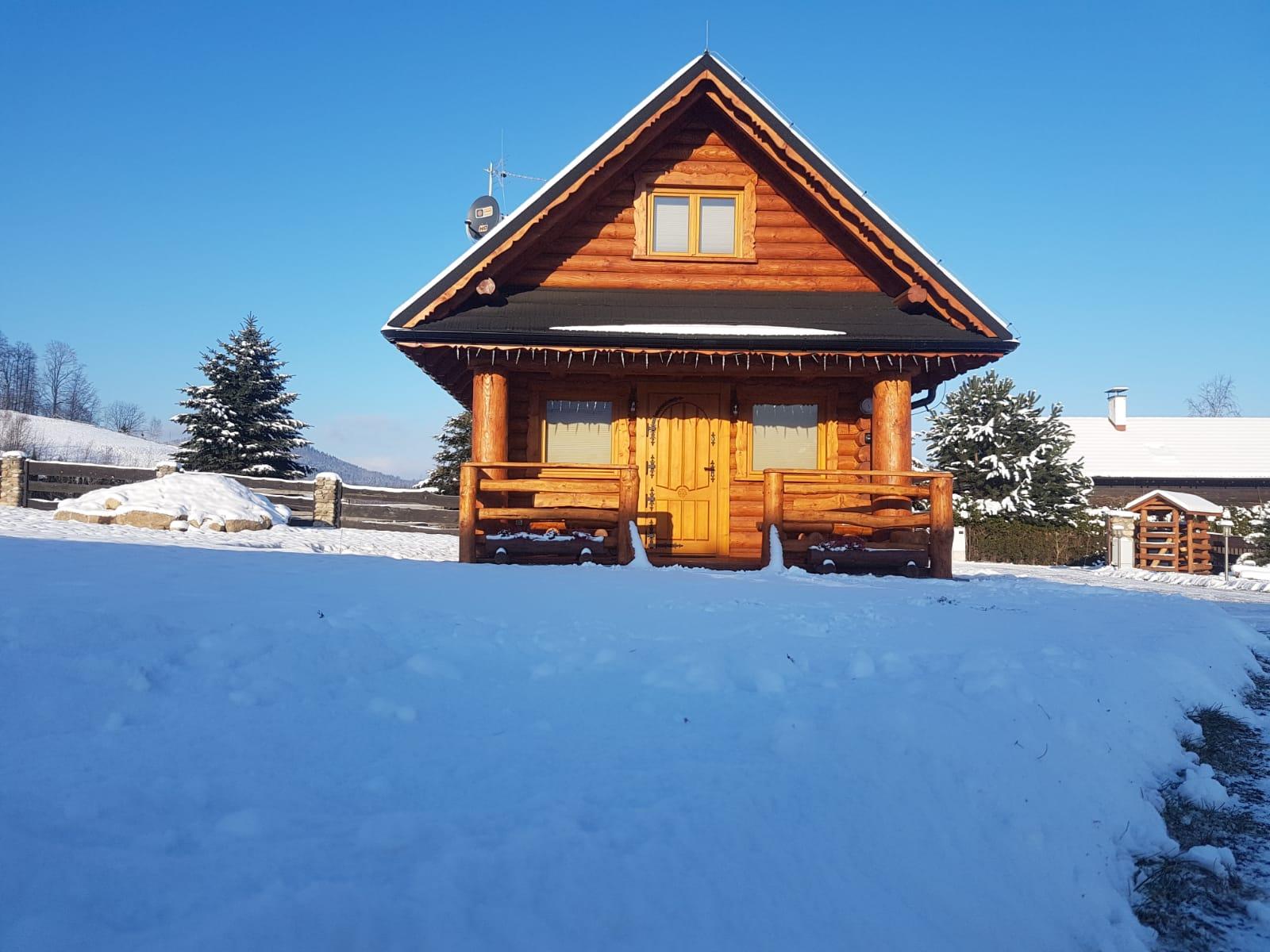 Wnajem domku z bali na wakacje, urlop, ferie - Karpacz - Ściegny