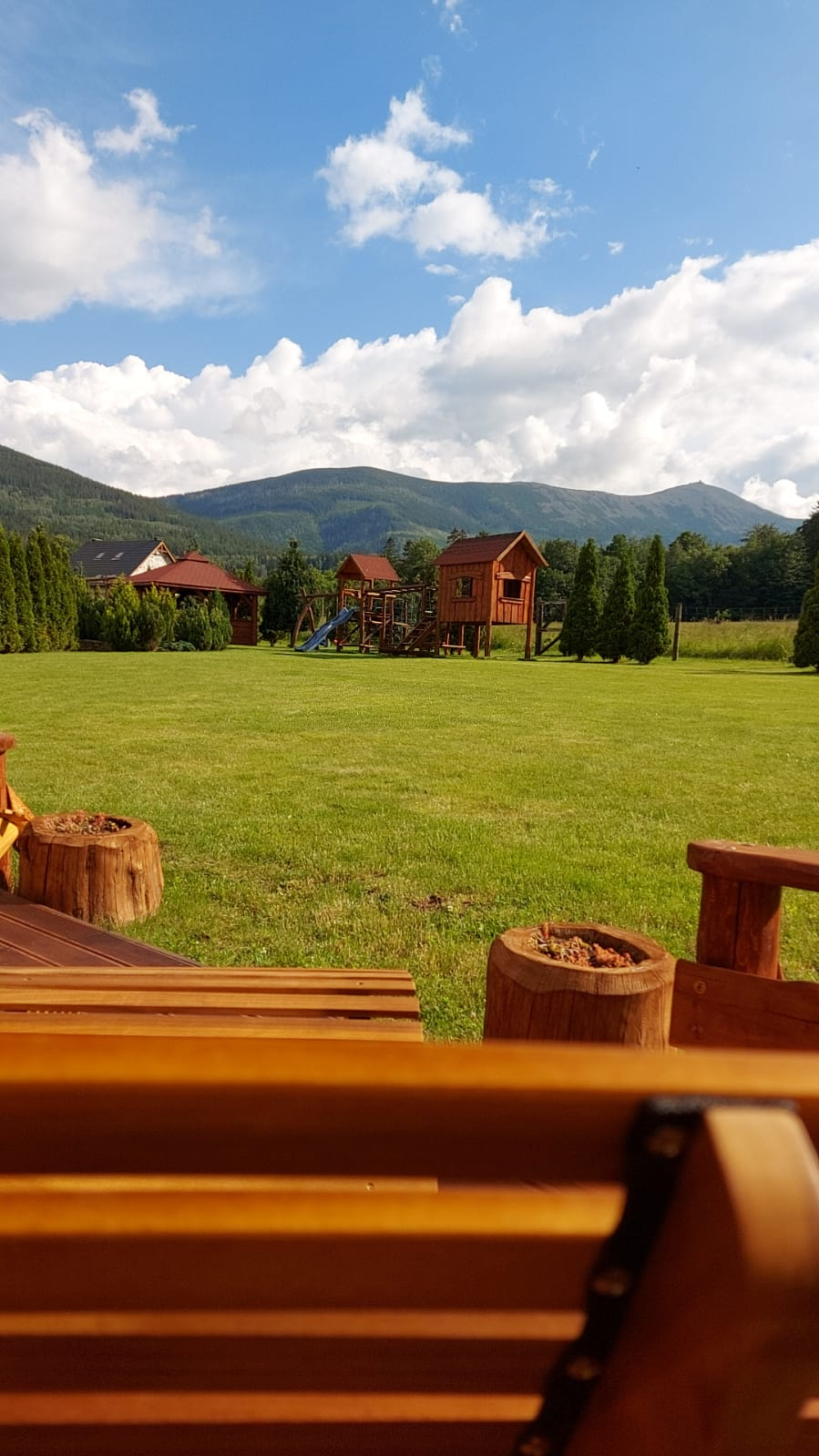 Domek wynajem Karkonosze, widok na góry